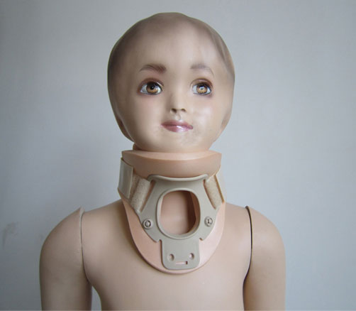 Deluxe pediatric cervical orthosis (type II) TJ003